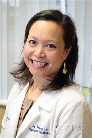 Dr Trang Le Md Bidhc Crown Colony Quincy Ma Internist